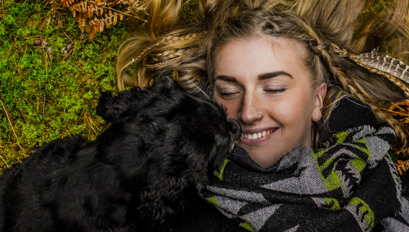 Dog Owner Blissfully Ignorant of Where Dog's Tongue Has Been